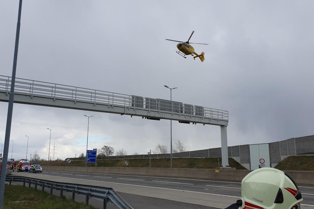 T2 - Autobahn Menschenrettung