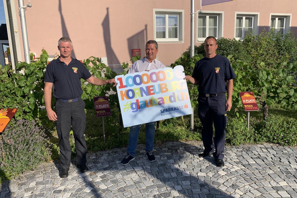 Spendenübergabe - Sparkasse Korneuburg